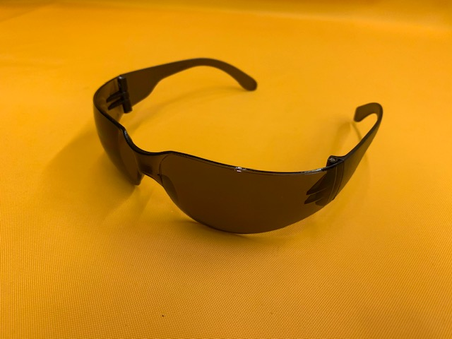 Grey Tinted Safety Glasses