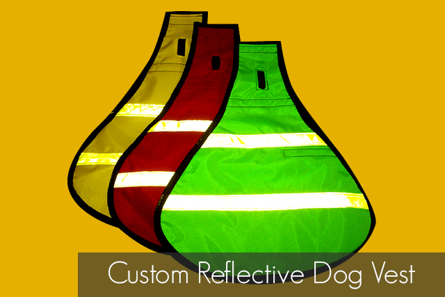 Custom Reflective Dog Vest