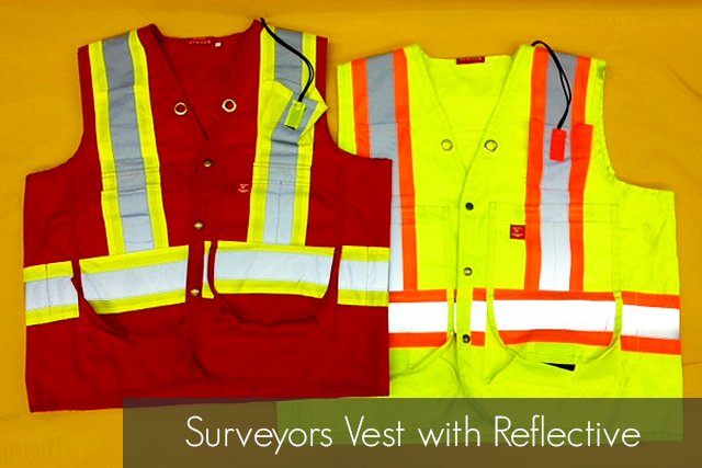 Surveyors Vest with Reflective