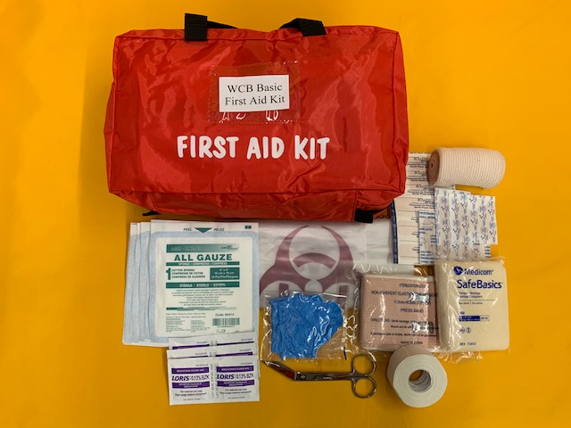 WorkSafeBC Basic First Aid Kit