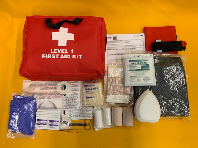 WorkSafeBC Level 1 First Aid Kit