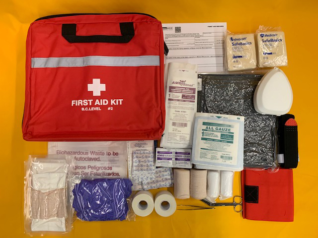 WorkSafeBC Level 2 First Aid Kit