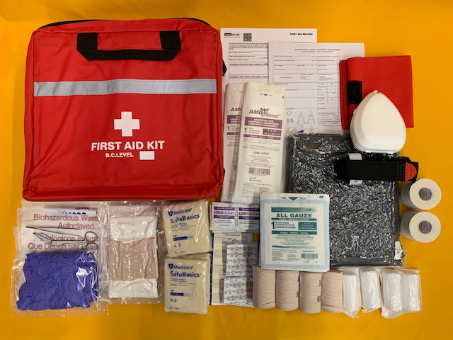 WorkSafeBC Level 3 First Aid Kit
