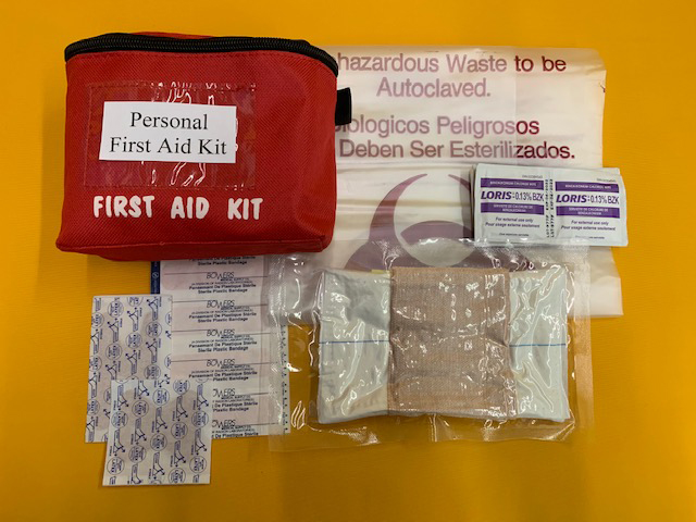 WorkSafeBC Personal First Aid Kit