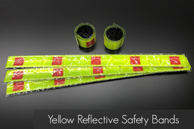 Yellow Reflective Safety Bands